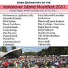 A list of performances from the Vancouver Island Musicfest