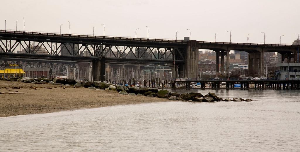 Burrard Bridge & Granville Island