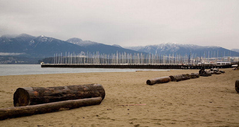 Jericho Beach (and Vancouver beyond)