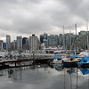 Vancouver skyline view from Stanley Park