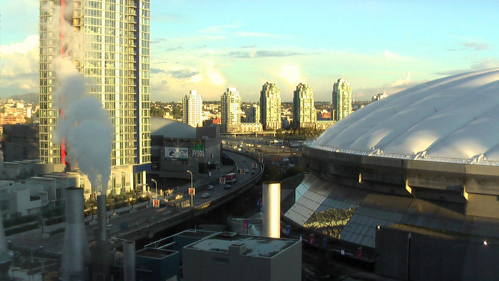 Panasonic SD-5 - BC Place <br /> One more capture of roughly the same image. This time from the Panasonic SD5 HD video camera.