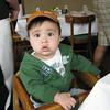 First highchair in a restaurant