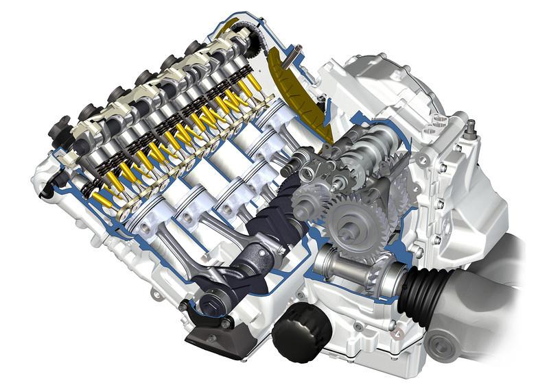 BMW K 1600 GT / BMW K 1600 GTL, technical artwork (07/2010)