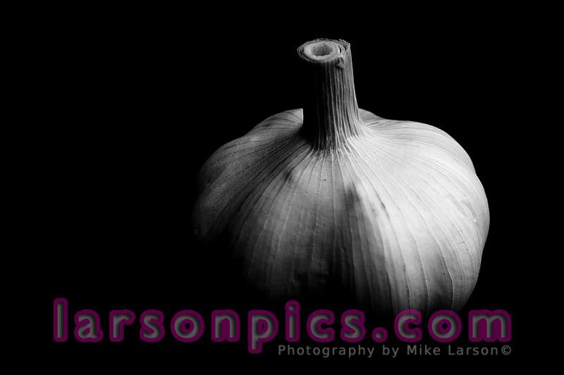 B/W Garlic