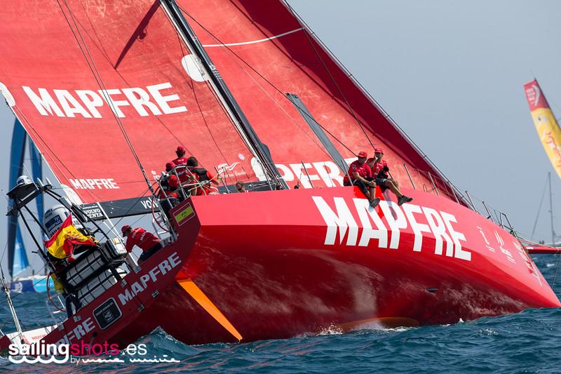 MAPFRE, EN LA VOLVO OCEAN RACE./ MAPFRE, IN THE VOLVO OCEAN RACE.