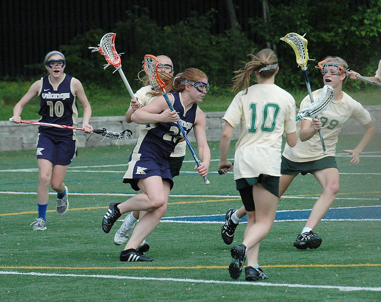 King vs. Greenwich Academy, 5/7/12, King put up a good fight but lost 18-7.