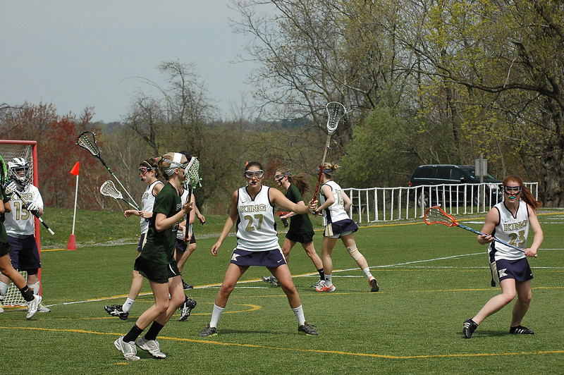 King vs. Sacred Heart, April 14, 2012