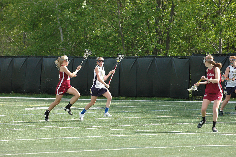King vs. St. Luke's, May 10, 2012 – Vikings won 13-9!