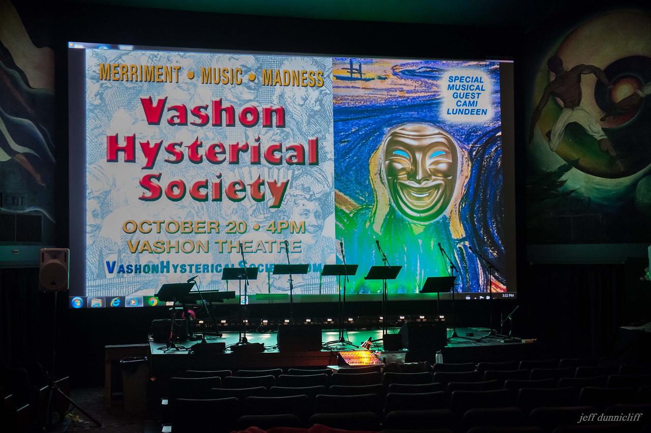 Vashon Hysterical Society 2013-10-20