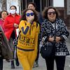Tourists in Kurashiki, Japan in March 2015