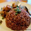 Thai rice in Jinda Thai restaurant, Richmond, Melbourne in October 2013