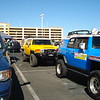 "Thanks to our main sponser, 4wd Toyota Owner Magazine  <br /> <a href=""http://www.4wdtoyotaowner.com/"">http://www.4wdtoyotaowner.com/</a>,  which supplied us with a partially race ready Toyota FJ (blue).  The team supplied the Yellow FJ (for all PIT stops) and the blue truck (used for our main pit stops). There were many other sponsers that helped us and we thank them all."