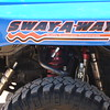 Suspension in our race FJ is 12 inches, dual suspension setup. We felt ready to hit the bumps at high speed.