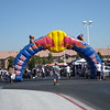 "Thursday 8/21/08 first day. The iconic Red Bull Arch at the South Point Casino in Las Vegas. 1st staging for the Vegas to Reno 500 Off Road race with over 369 entries spanning professionals to rookies. More info on the race sponser - <a href=""http://www.bitd.com"">http://www.bitd.com</a>"