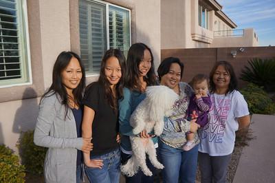 Cheryl, Kelela, Corrinne, Jackie, Sophie, and Judy