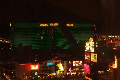 MGM Grand at night