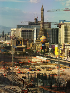 Lovely Las Vegas Construction View