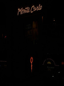 Prince's Symbol on the Monte Carlo Marquee