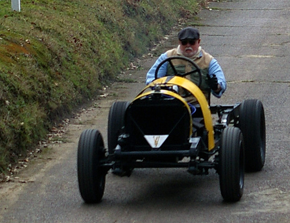 Test Hill Special at Brooklands