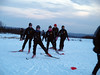 Training at Venabu. Ottestad ski club outside Hamar