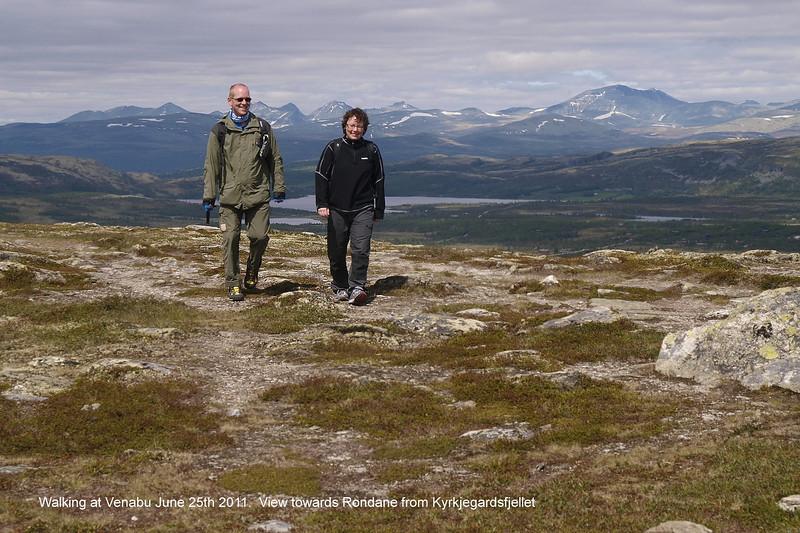 Walking in the Venabygdsfjell
