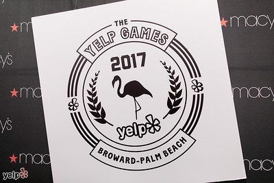 Yelp Games at Macy's Jan 2017
