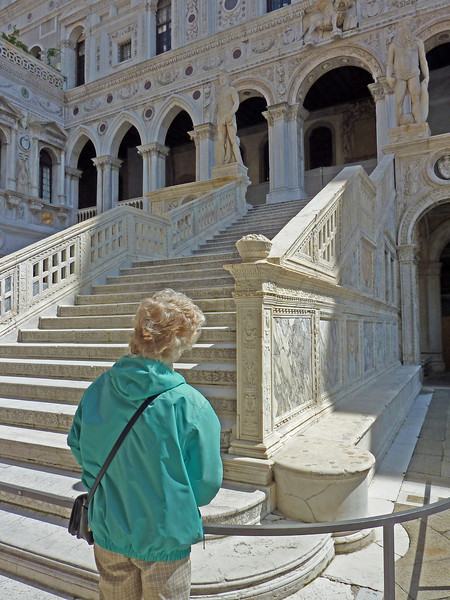 Grand Staircase- Palazzo Duicale