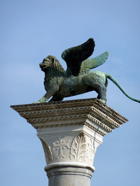 The winged venetian Lion