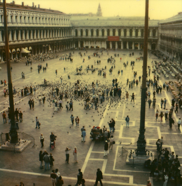 St. Mark's Square. SX-70.