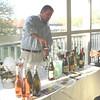 Wine tasting on the veranda...delicious!
