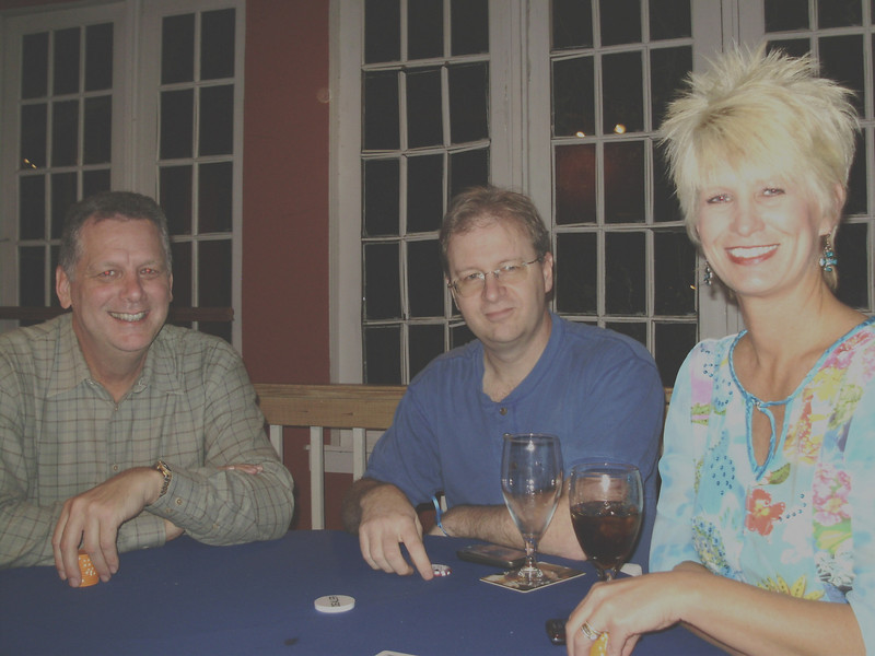 Tim, Richard, and Karen