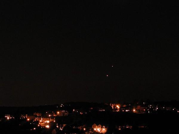 Venus & Jupiter Sept 2005