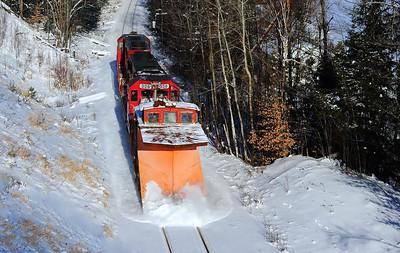 Vermont Rail System Plow Extra, Barton, Vt