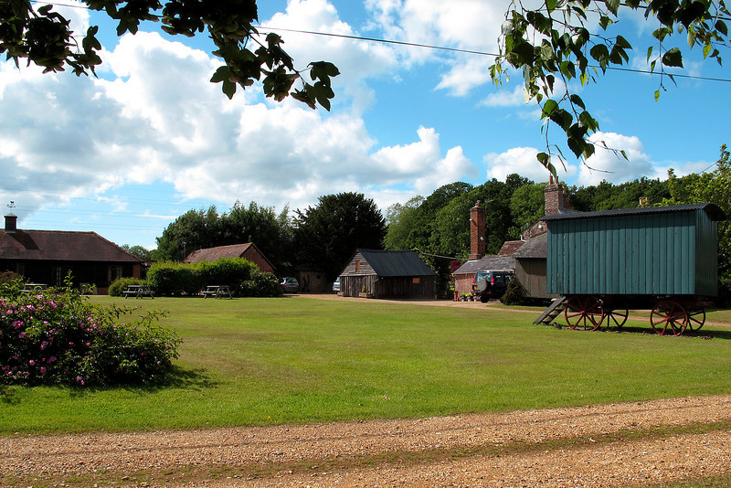 Holiday cottages at Crane Valley