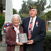 Ms. Ruby Shaw and Commander Lamar Royals of VFW Post 8095.