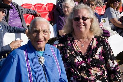 Walter Amos and Kathy Mowery.