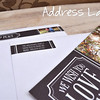 sample wrap around address label