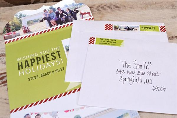sample wrap around address label