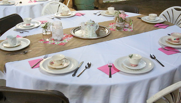 Ladies Victorian Tea::May2014