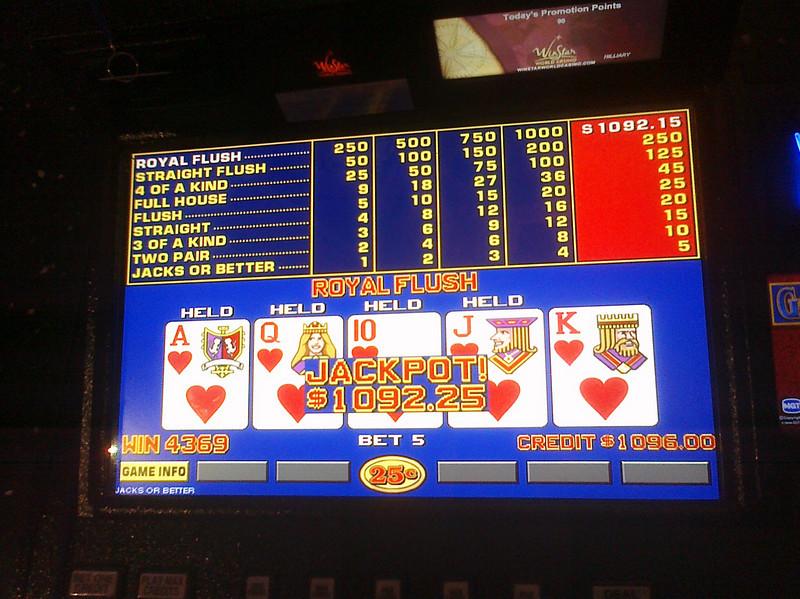 Hilliary<br /> Winstar World Casino - Rome Bar<br /> Sunday, November 8th, 2009