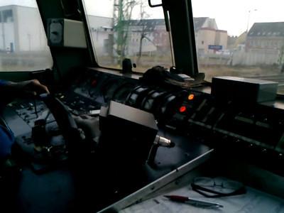 Floyd 86 cab ride through Gyor