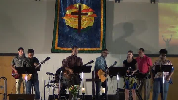 20190714 Offertory - My Feet are on the Rock