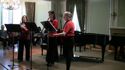 """Lutheran West freshman Joseph Tolonen had his composition """"Sonata for Three Oboes"""" performed May 6, 2012 as part of the Cleveland Composer Guild's Young Composer's Concert at the Cleveland Music Settlement.  News Story: Tolonen composition performed in Cleveland"""