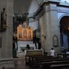 Organ playing in the Montepulciano church