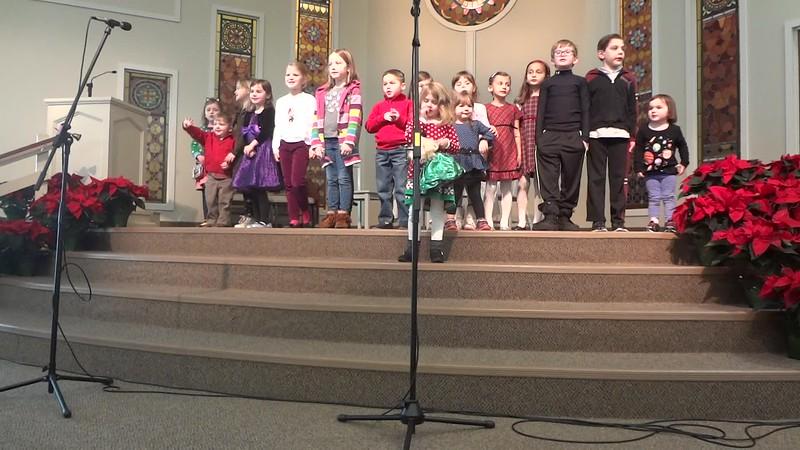 Angels We Have Heard on High / Joy To The World Medley<br /> Asbury Choir<br /> December 17, 2017