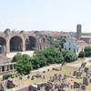 Noon bells chiming in Rome