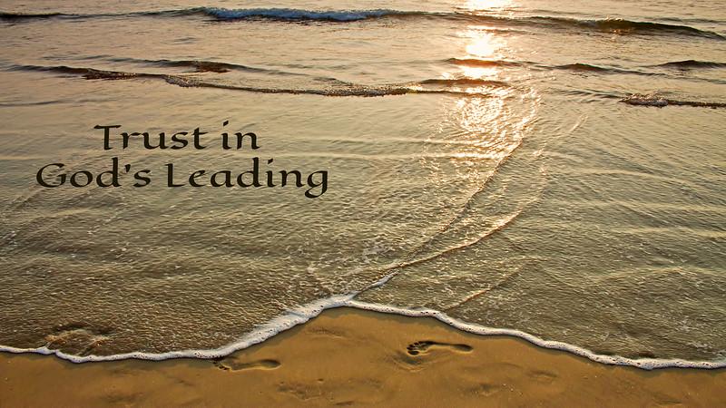 Trust in God's Leading