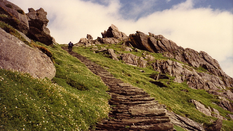 Skellig Michael Ascent and Return
