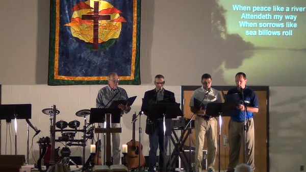 20190728 Offertory - It Is Well With My Soul (quartet)