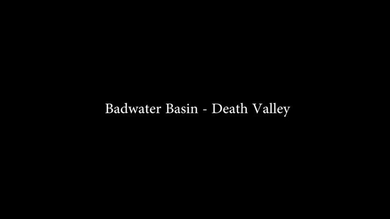 Nightfall on Death Valley (timelapse).